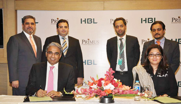 E.Primus Investment -HBL  Agreement Pic