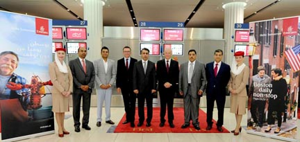 U. Delegation departs from Dubai International