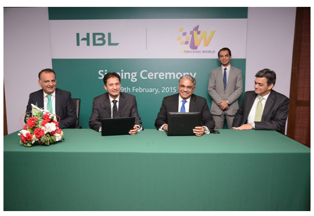 HBL agreement with Tracking World