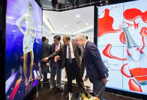 B2B products on display at LG Electronics' Business Innovation Center