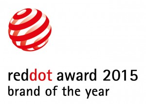 LG NAMED BRAND OF THE YEAR 2015 AT RED DOT AWARD -LOGO