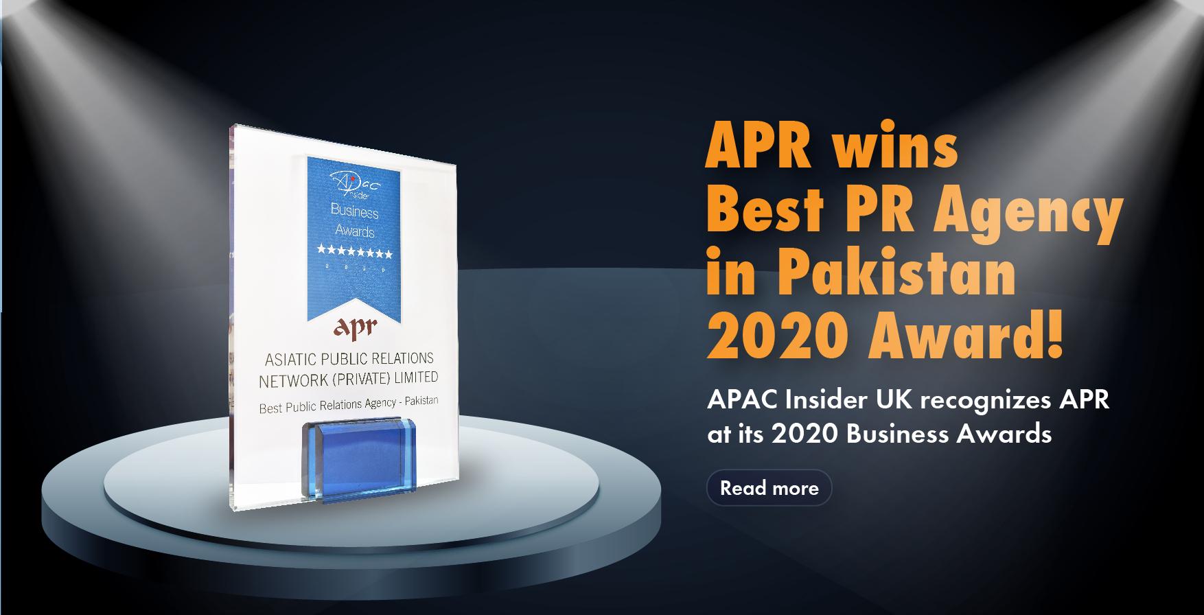 APR Award 2020